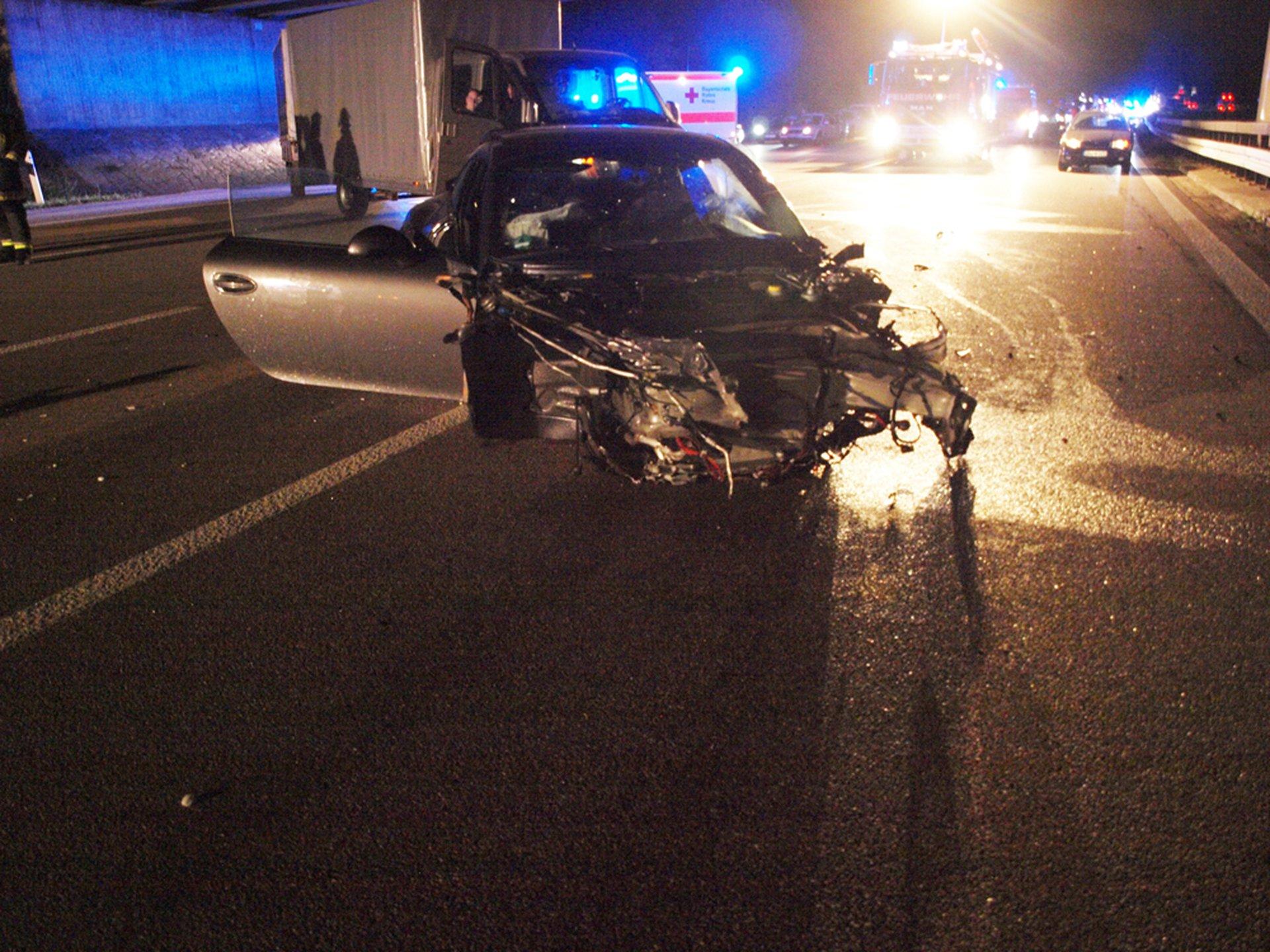 Feuerwehr Hepberg - Verkehrsunfall